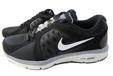 NIKE Mens DUAL FUSION RUN Lightweight Running Shoes MISMATCH US 8/8.5 Black $85