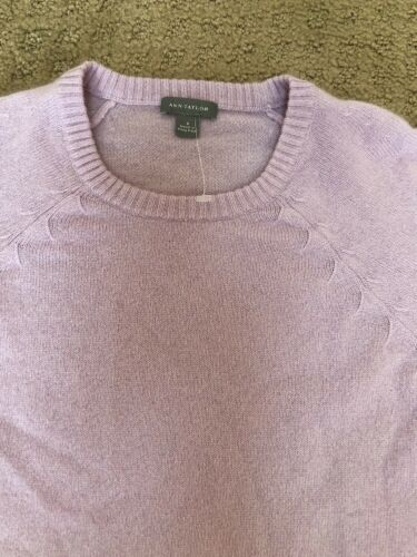 New Ann Cashmere Sweater Taylor Lavender S 4gqwO046