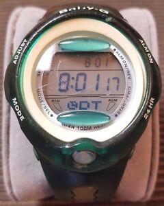 ada3f9c80e Casio Baby-G BG-163 women digital sports watch green dolphins and ...