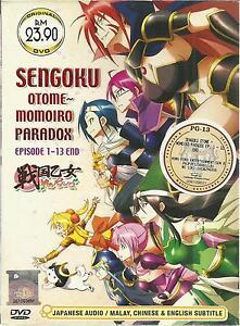 Details about DVD Anime Sengoku Otome ~ Momoiro Paradox ( Eps  1-13 End ) +  Free Shipping
