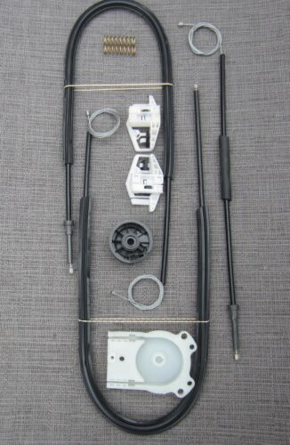 03-07 MEGANE II FRONT LEFT WINDOW REGULATOR REPAIR KIT UK PASSENGER 2//3 DOOR