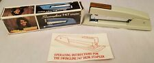 Swingline 747 Vintage Puttywood Classic Metal Stapler New Made In Usa