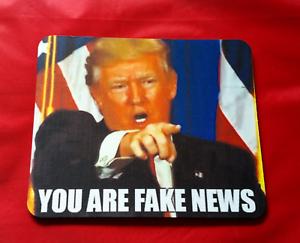 Donald Trump Fake News Meme Inspired Meme Mouse Mat Pad PC /& Laptop Gaming