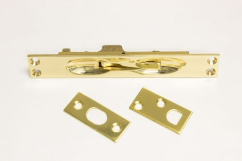 Solid Brass 12 Inch Extension Flush Bolt Choose from 6 finishes
