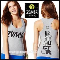 Zumba Instructor Racerback Top Tank Classic rock W Me Rare Z1t00643 Sz. L Xl