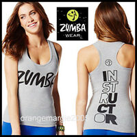 Zumba Instructor Racerback Top Tank Classic rock W Me Rare Z1t00643 - S L Xl