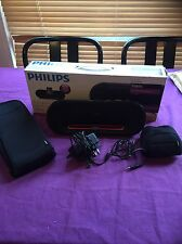 Philips Fidelio DS7510/10 iPod/iPhone Portable Docking Station Speaker +Adapter