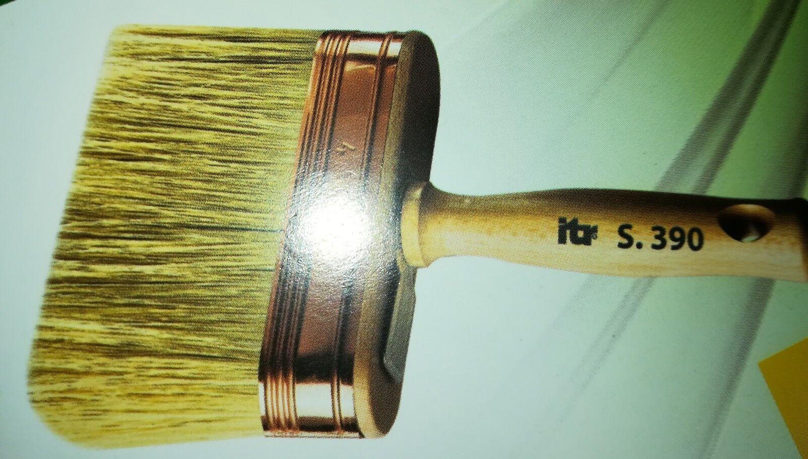 Plafoncino Ovale Pennello Setola Bionda Manico Legno 390 Made in  Pezzi 12