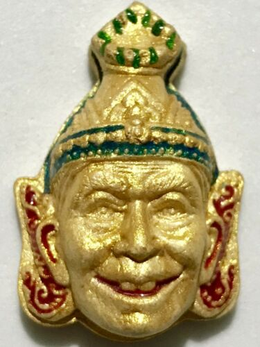 SEAN POR KHAE PHRA LP TIM RARE OLD THAI BUDDHA AMULET PENDANT MAGIC ANCIENT#2