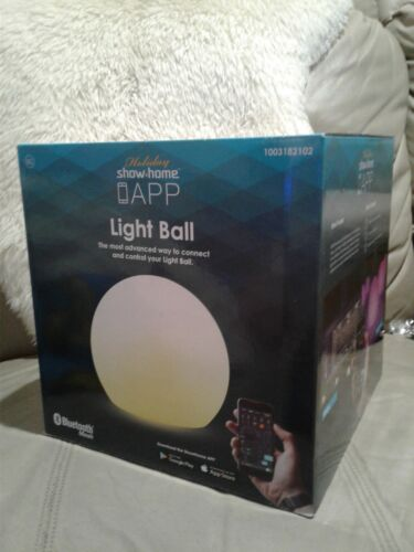 Ball LED Christmas Path 7-Lights Shows Plug In Timer Settings Outdoor Decoration