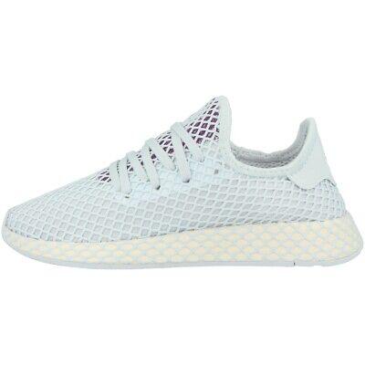 Adidas Deerupt Runner Women Scarpe Da Donna Originals Sneaker Blue Ecru Cg6083-mostra Il Titolo Originale