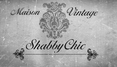 Maison Schablone Vintage Französisch Shabby Chic Möbel Stoff Malen