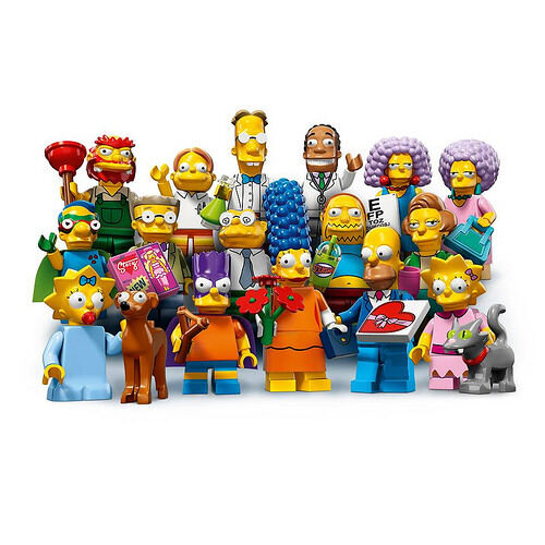 ordinare on-line LEGO 71009 The Simpsons Series 2 completare Set 16 SEALED SEALED SEALED Minicifra nuovo Sealed  colorways incredibili