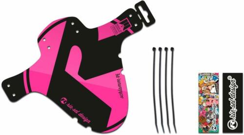 Rie:sel Design Bike cycle Standard Sized Front Fender//Mudguard  Pink