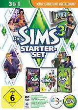 Die Sims 3 - Starter Set - PC - 3 Cds in Original Hülle - Deutsche Version
