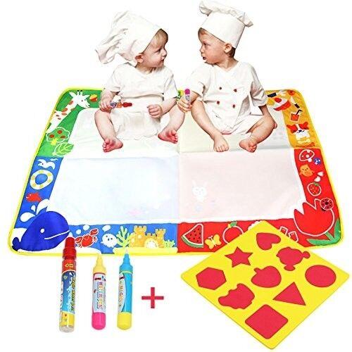 BELLESTYLE 4 Couleurs Tapis Dessin Eau Doodle Doodle Doodle Magic pour les Enfants 100x70cm fab22e