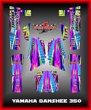 Yamaha BANSHEE 350 SEMI CUSTOM GRAPHICS KIT DOTTED