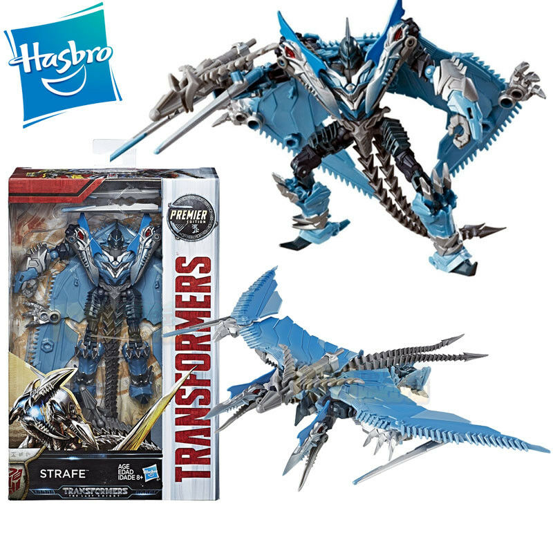 TRANSFORMERS 5 THE LAST KNIGHT DELUXE STRAFE DINOBOT PTERANODON FIGURES TOY GIFT