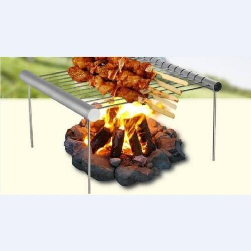 Portable Mini Compact Grill Pocket Grill Trekking Camping Outdoor Park Grill JI