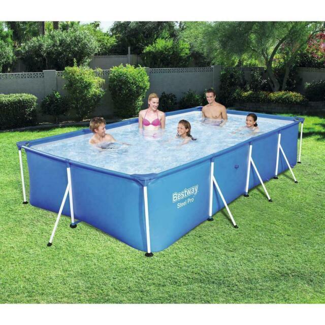 Bestway 56512EBW Steel Pro Rectangular Swimming Pool