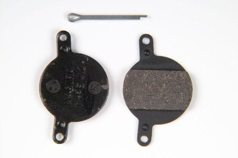 1 Paar Magura 4.1 oder 4.2 Bremsbeläge inkl. Sicherungssplint KRACHER