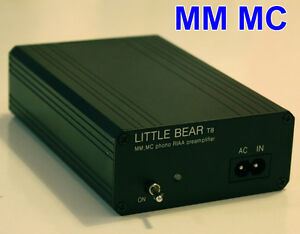 Little-bear-T8-MM-MC-Phono-Turntable-LP-RIAA-Preamp-preamplifier-AU