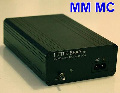Little bear T8  MM MC Phono Turntable LP RIAA Preamp preamplifier AU