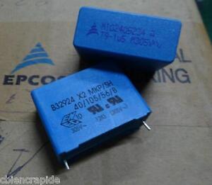 condensateur-1-5-F-1-5uF-1-5MF-300v-305v-X2-MKP-SH-B32924-10-tolerance-EPCOS