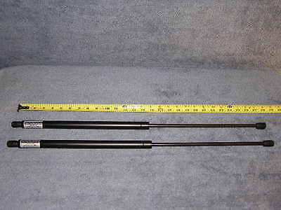 "2ea 27"" 115# Truck Topper Cap Cover NP Gas Strut Spring Lift Shaft Prop Push Rod"