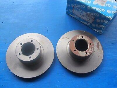 Ford 2.8 et 3.0, Disques de freins avant BRECO pour Consul et Granada 2.6