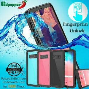 Pour-Samsung-Galaxy-S10-S10-Plus-impermeable-antichoc-Dirtproof-Case-Full-Cover