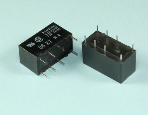 DPDT 4 pieces Omron Relay 48vdc 1Amp General Purpose G5V2