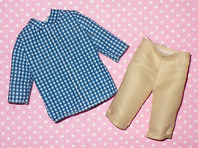 Barbie Ken Fashionista Doll Clothing Lot Shirts Pants Shorts New