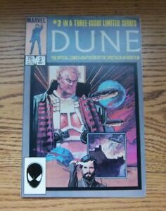 Dune #2 [of 3] Official Film Adaptation Marvel Comics Great Condition 1985