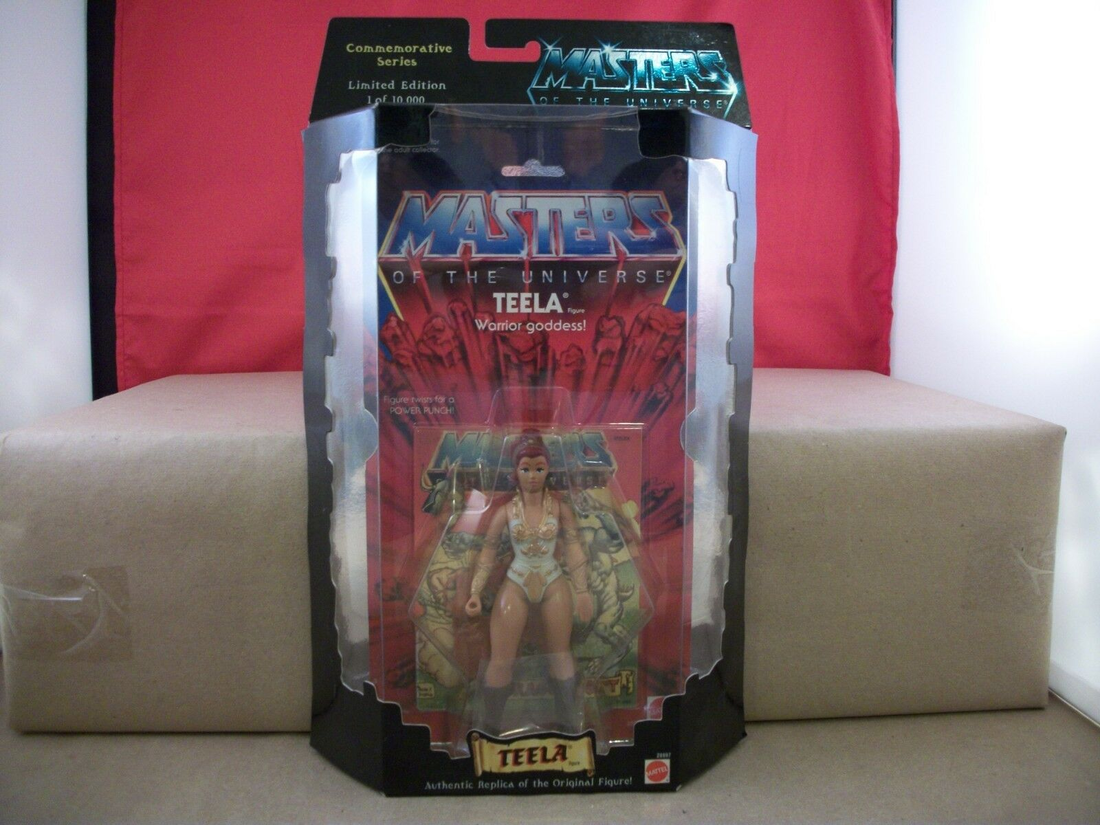 Mattel Masters of the Universe Commemorative Series Teela Figure Limited Edition
