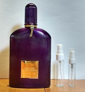 Authentic Tom Ford Velvet Orchid Edp 3 5 Or 10ml Sample In