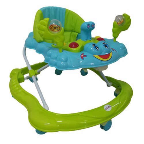 Baby Walker Push Along Ride Musical Toy First Steps Bouncer Activity Melody On
