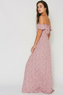Flynn Skye Revolve Pink Bella Off Shoulder Floral Print Maxi Dress S Rare Aso Ebay Revolve lovers and friends black dress. flynn skye revolve pink bella off shoulder floral print maxi dress s rare aso ebay