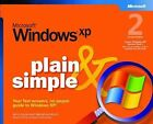 Microsoft Windows XP Plain and Simple by Jerry Joyce, Marianne Moon (Paperback, 2004)