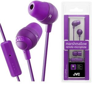 Double speaker earbuds - jvc marshmallow earbuds white