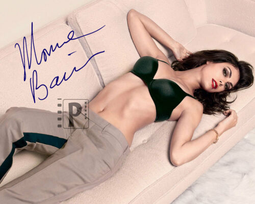 """Morena Baccarin 10""""x 8"""" Wow! Signed Color PHOTO REPRINT"""