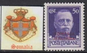 Italy-Somalia-Sassone-n-166-MNH-cv-145-Super-Centered-Rare
