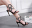 Fashion-Women-Peep-Toe-High-Heel-Strap-Buckle-Sandals-Stilettos-Party-Prom-Shoes thumbnail 4
