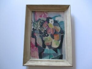 VINTAGE CUBIST CUBISM ABSTRACT  MID CENTURY  MODERNISM EXPRESSIONISM 1940'S OLD
