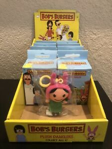Bob/'s Burgers Plush Dangler YOU CHOOSE Bob Tina Gene Louise Linda Kuchi NEW