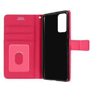Xiaomi redmi note 10/10 S Art Housse en cuir avec cartes matières – Rose