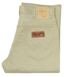 Wrangler-Texas-W-34-L-34-Jeanshose-Stretch-Light-olive-beige-W12132148