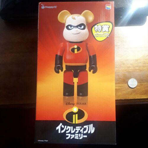 Medicom Toy 400/% Bearbrick BE@RBRICK Mr Incredible Figure Disney Pixar NEW