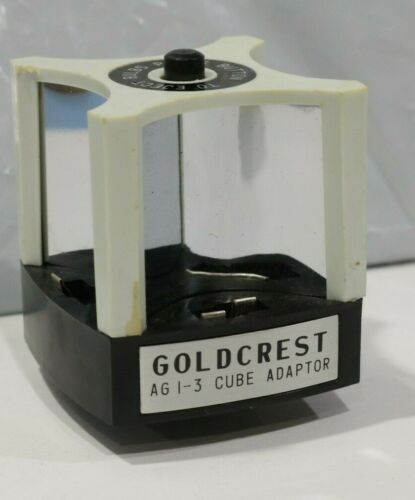 GOLDCREST Automatic AG 1-3 Cube Adaptor New Old Stock