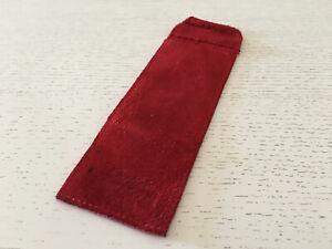 GéNéReuse Used - Travel Case Cartier Estuche De Viaje - 15 X 5,5 Cm Red Color Rojo - Usado Diversifié Dans L'Emballage